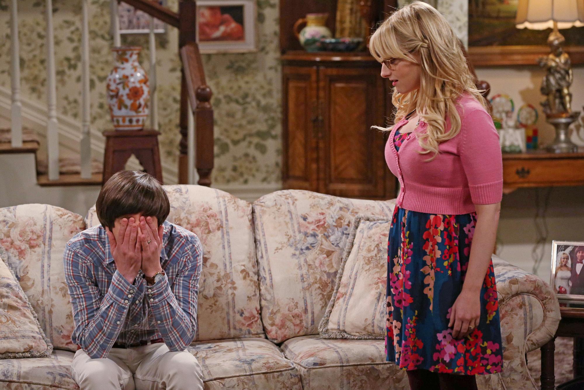 8. Bernadette Rostenkowski - The Big Bang Theory
