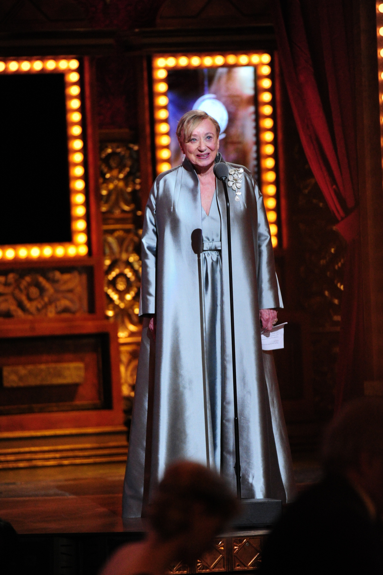winner Costume designer Jane Greenwood, 2014 recipient of the Special Tony Award for Lifetime Achievement in the Theater - 2014 Tony Awards