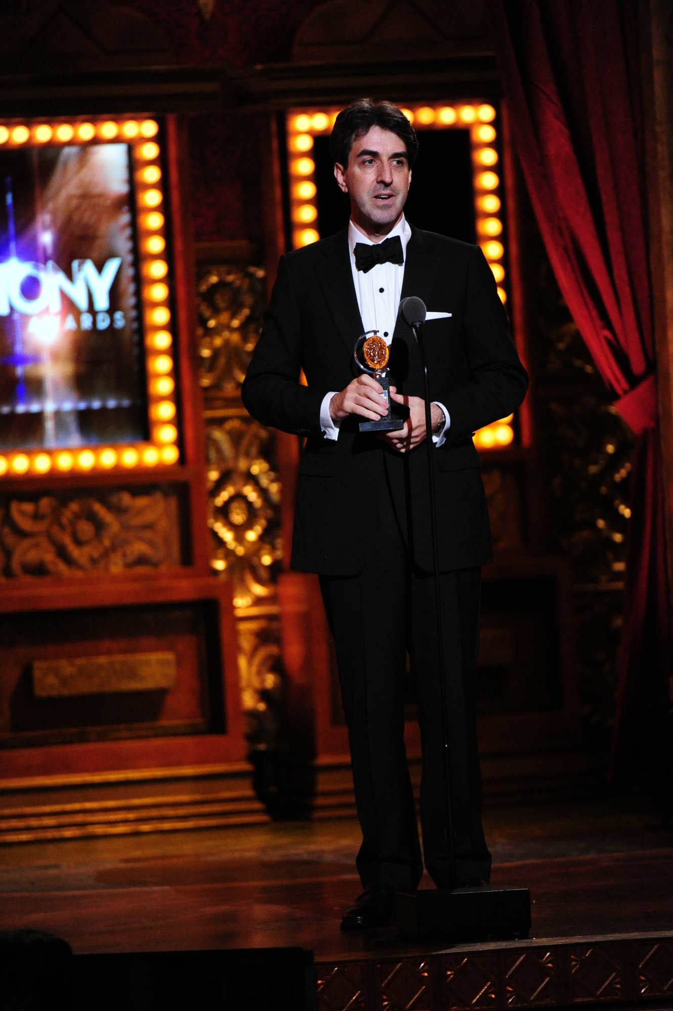 winner Best Orchestrations Jason Robert Brown for The Bridges of Madison County - 2014 Tony Awards