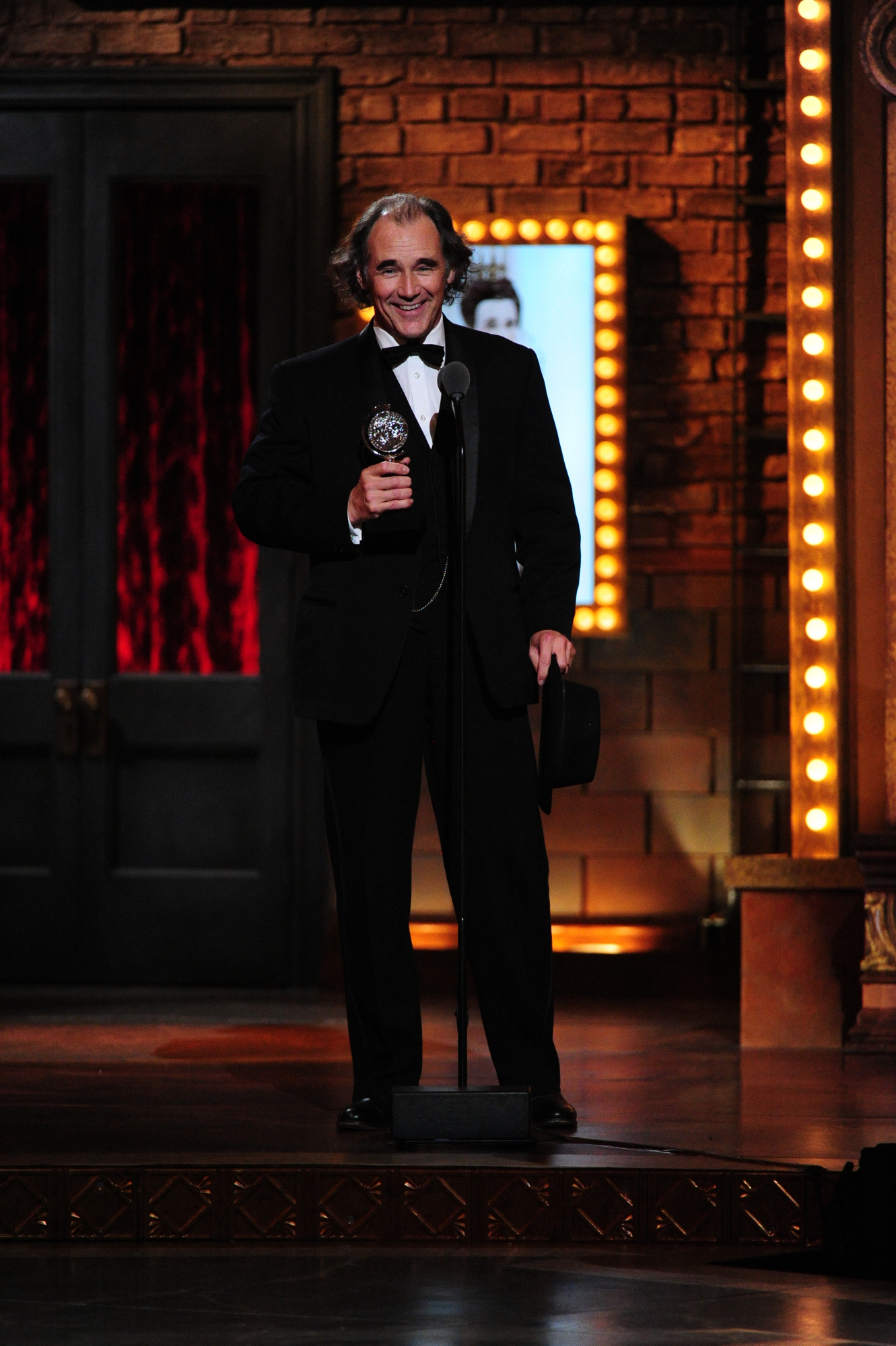 Winner Best Performance by an Actor in a Featured Role in a Play Mark Rylance for Twelfth Night - 2014 Tony Awards