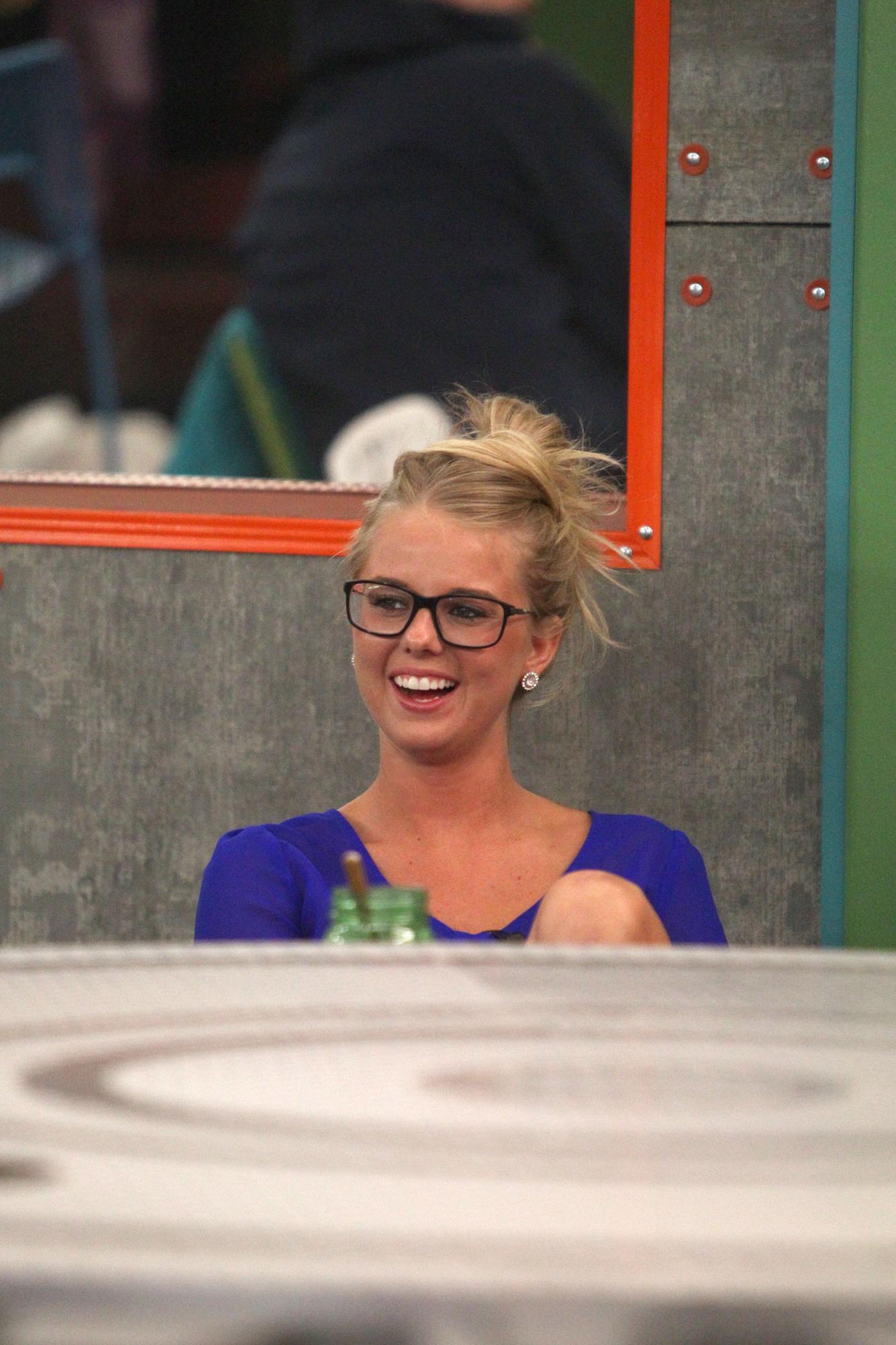 Nicole laughs