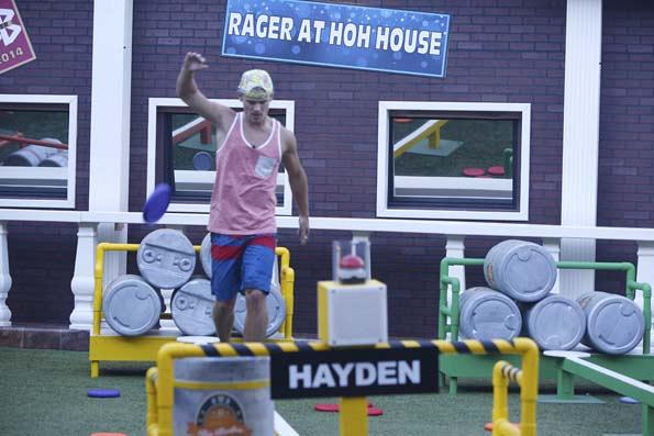 Hayden in the lead