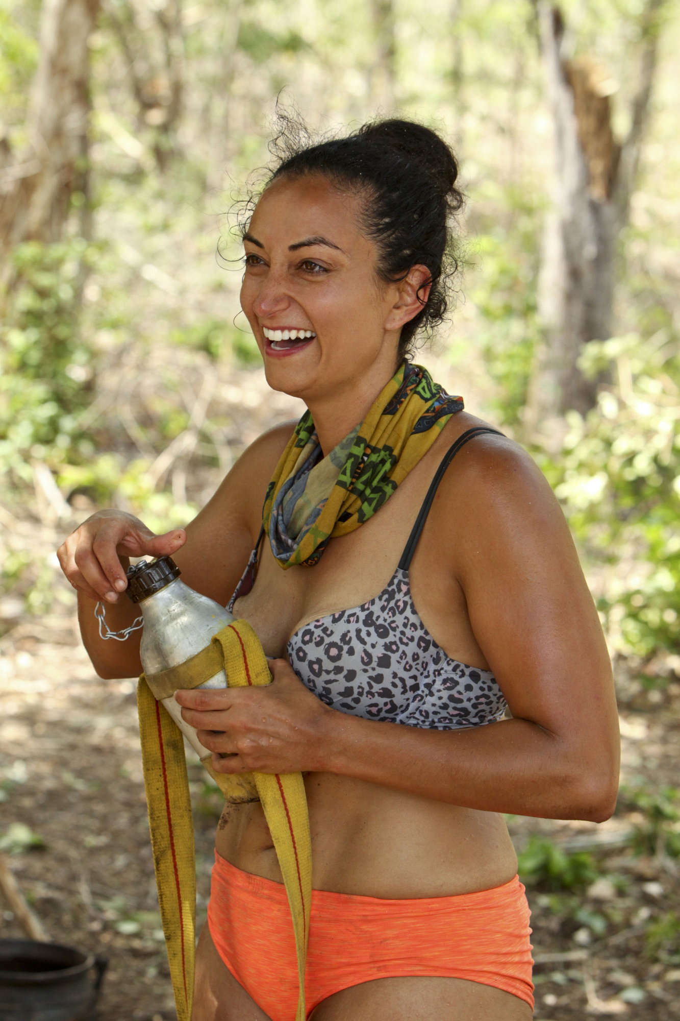 Shirin enjoys her Survivor experience