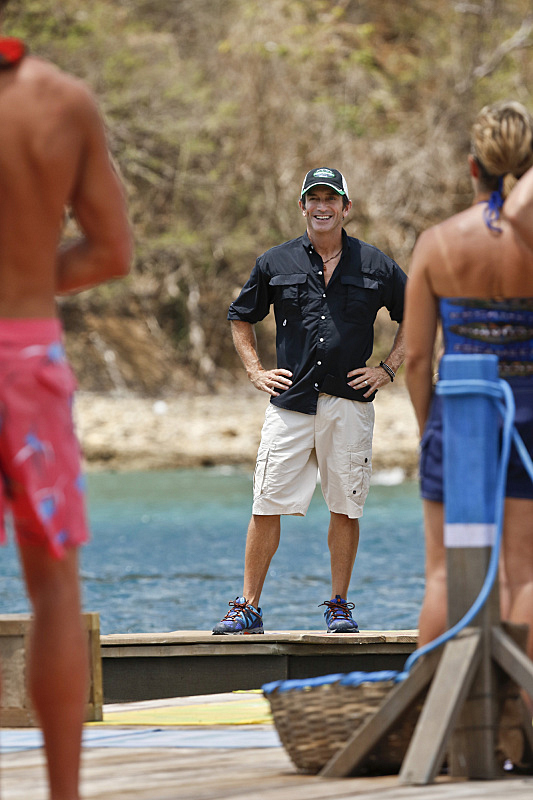 A very happy Jeff Probst