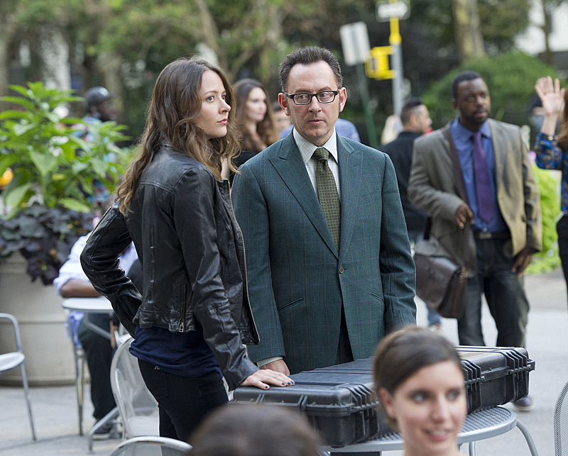 "The machine sends Root and Finch on a mysterious errand in ""Wingman"" S4E3"