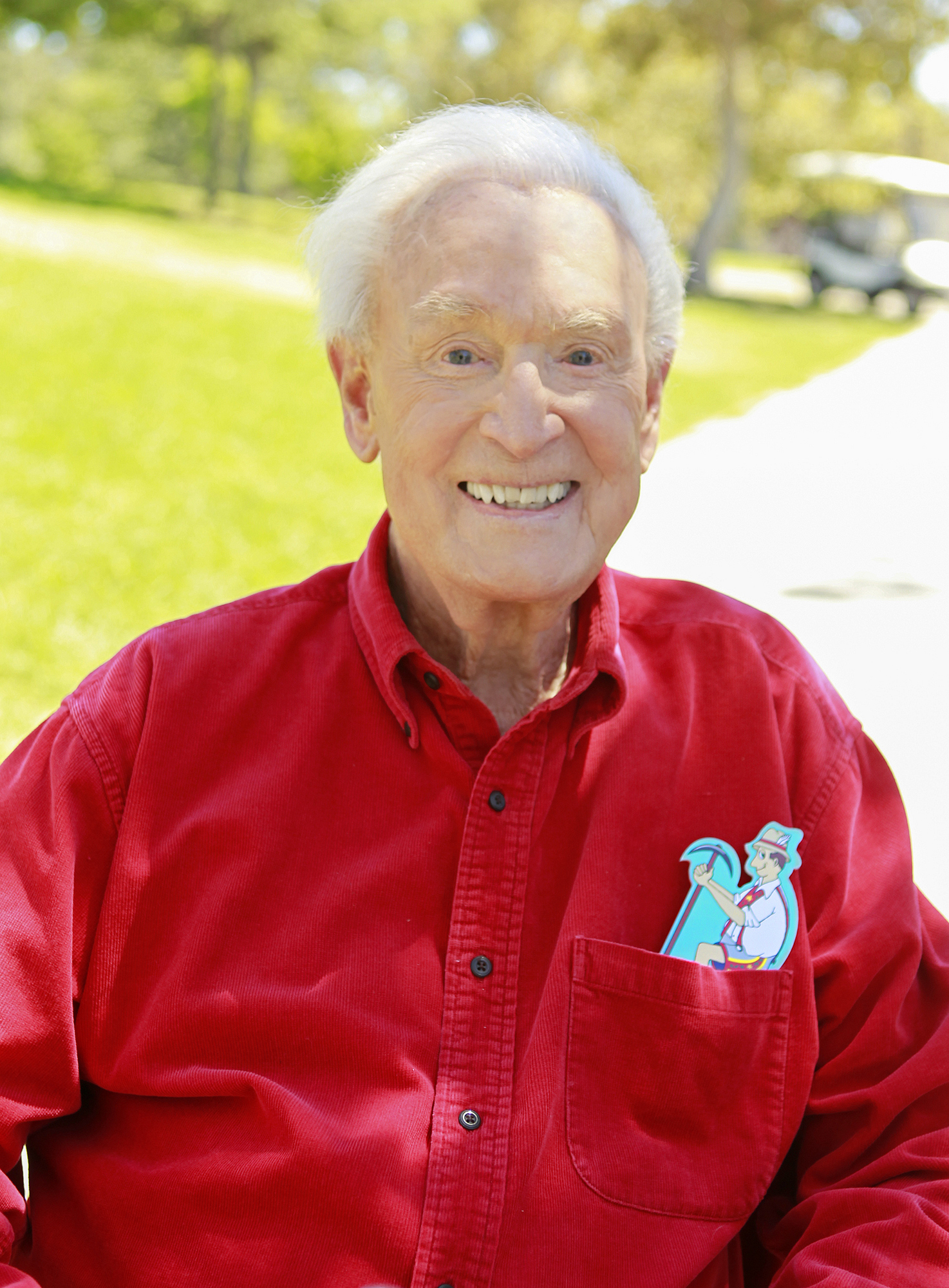 Hitching a ride with Bob Barker