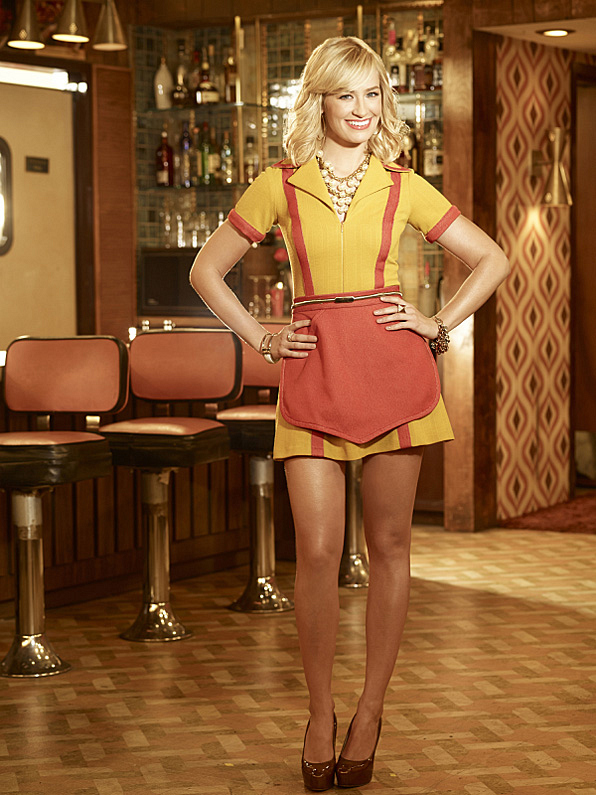 9. Caroline Channing (<i>2 Broke Girls</i>)