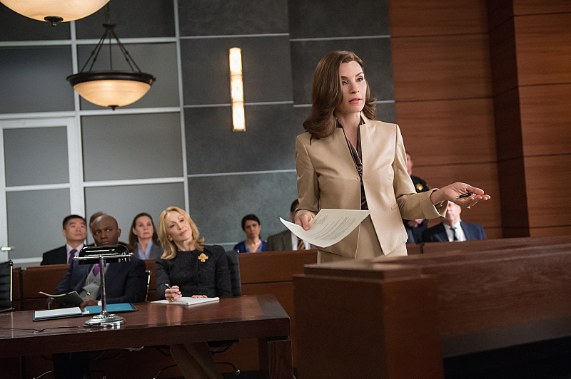 "Julianna Margulies as Alicia Florrick in ""Shiny Objects"" S6E5"