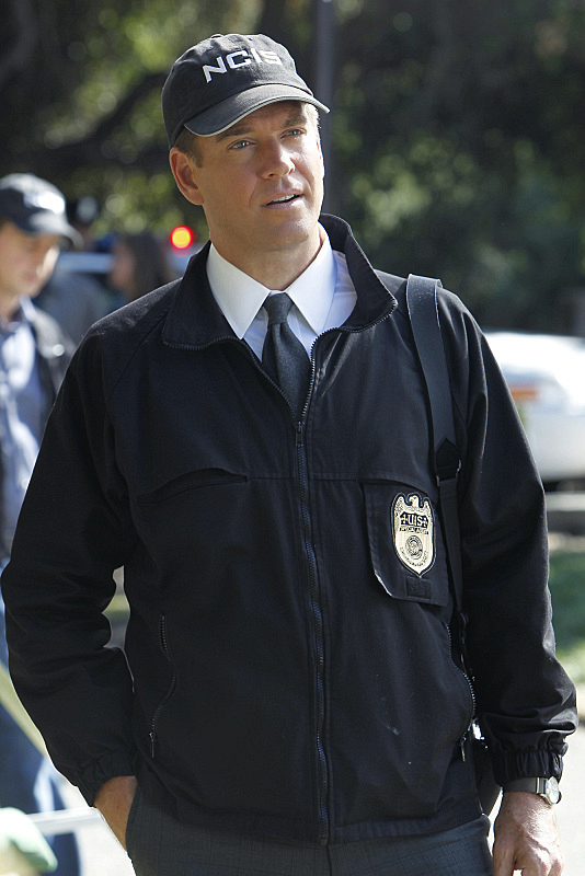 With a hat like this, you can't deny DiNozzo.