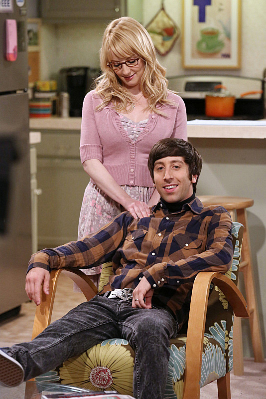 18. Together, Bernadette and Howard make it look easy