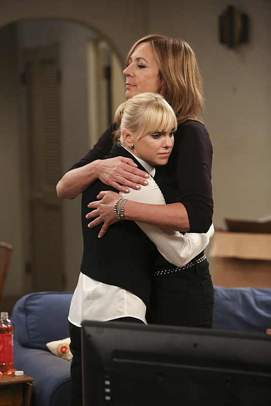 Sometimes even Christy needs a hug from her Mom