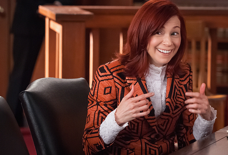 "Carrie Preston as Elsbeth Tascioni in ""Old Spice"" S6E6"