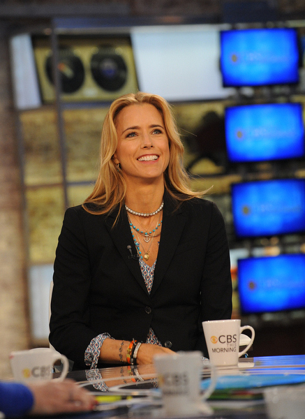 Téa Leoni on CBS This Morning