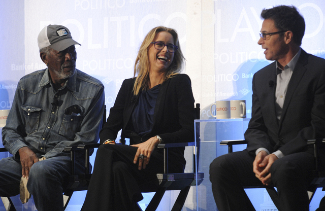 Morgan Freeman, Téa Leoni and Tim Daly