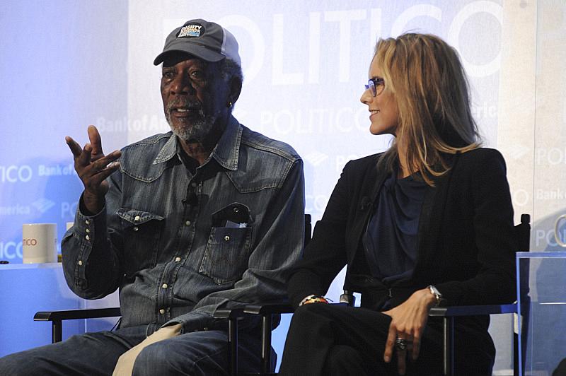 Even Morgan Freeman wears hats. Enough said.