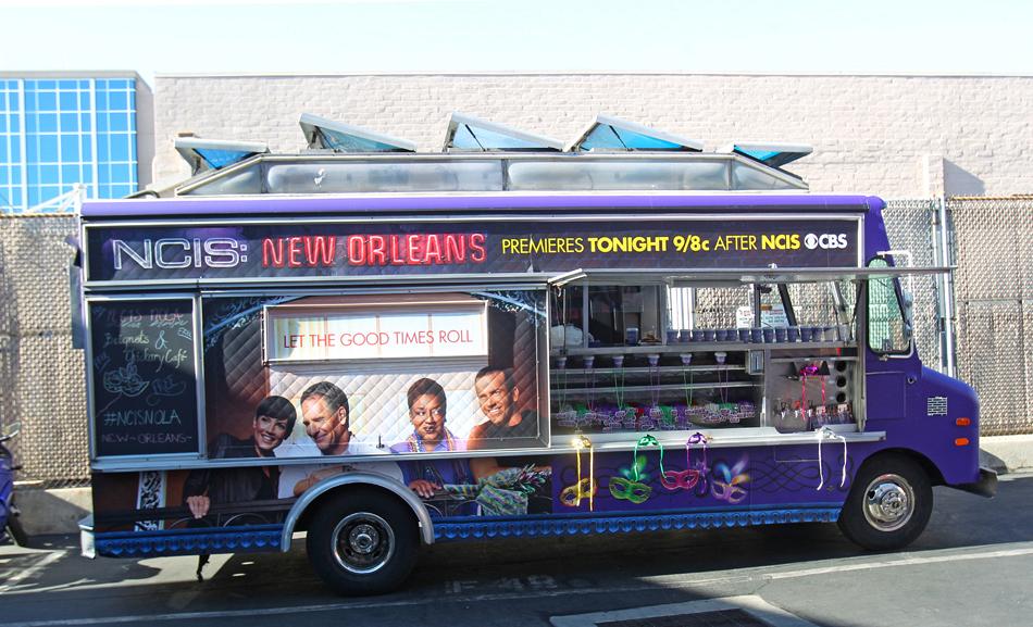 NCIS New Orleans Beignet Truck