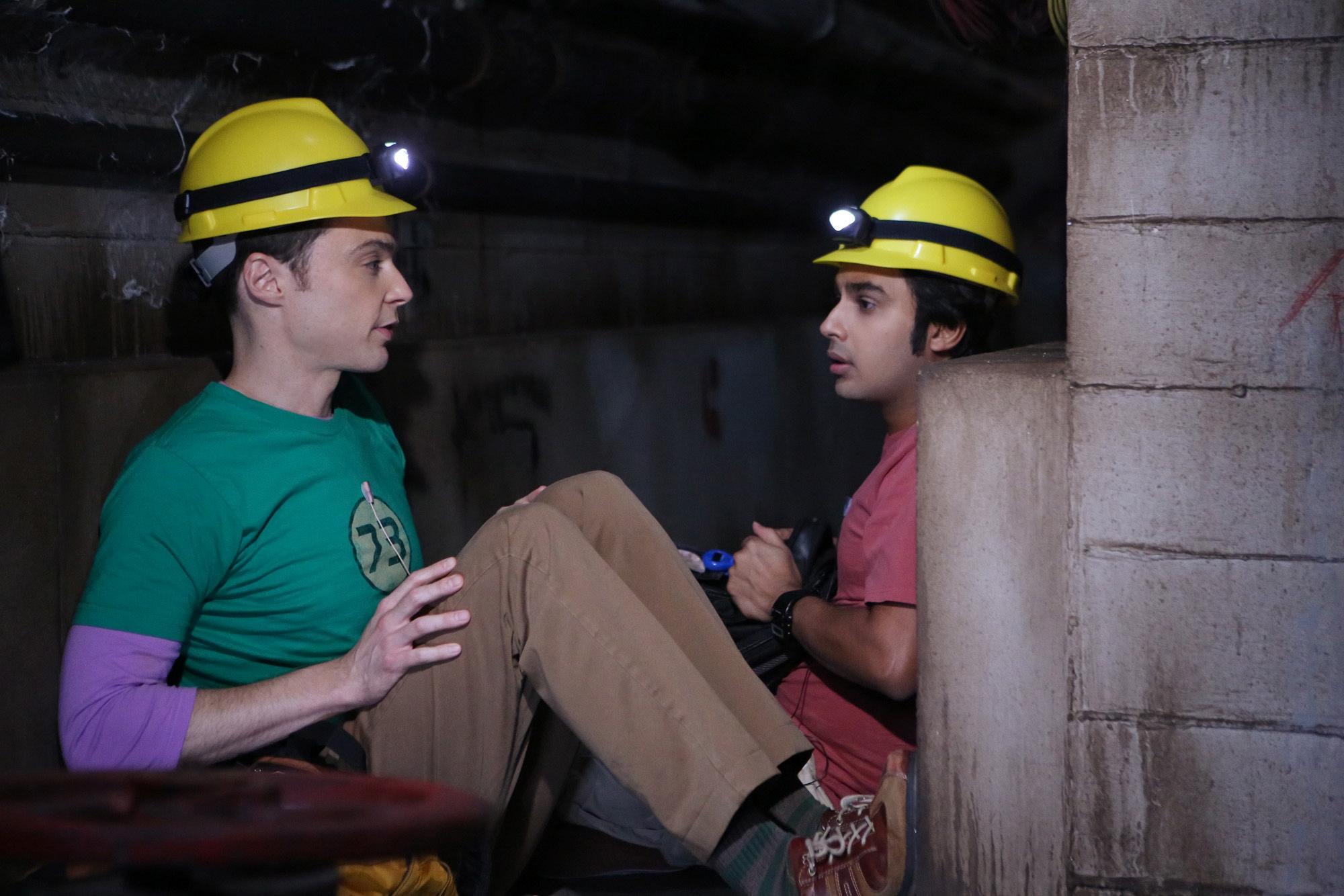 Sheldon and Raj