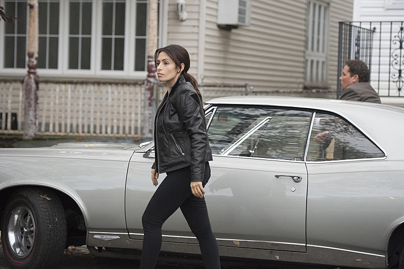 Shaw and Fusco go for a ride