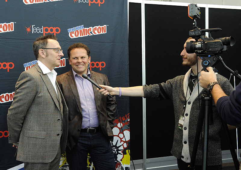 Kevin Chapman, and Michael Emerson at New York Comic Con