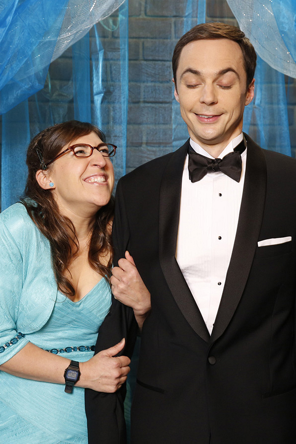 """For Sheldon and Amy's first """"I Love Yous"""" on The Big Bang Theory"""