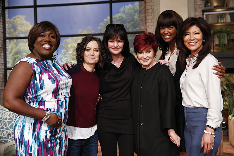 Pauley Perrette and the ladies!