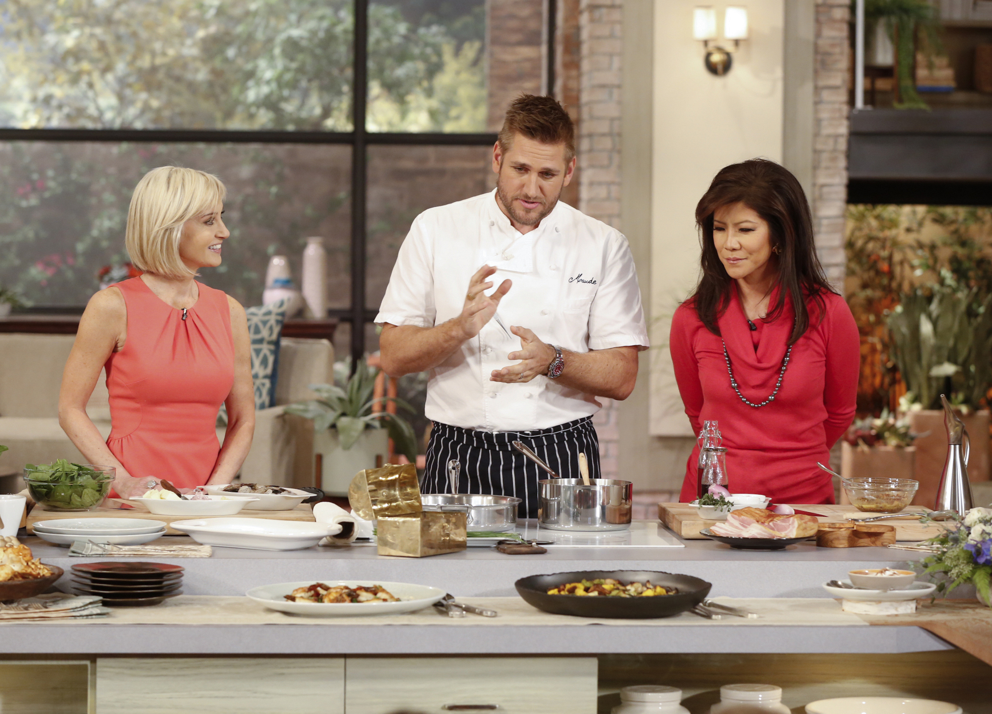 7. Cooking for a cause.