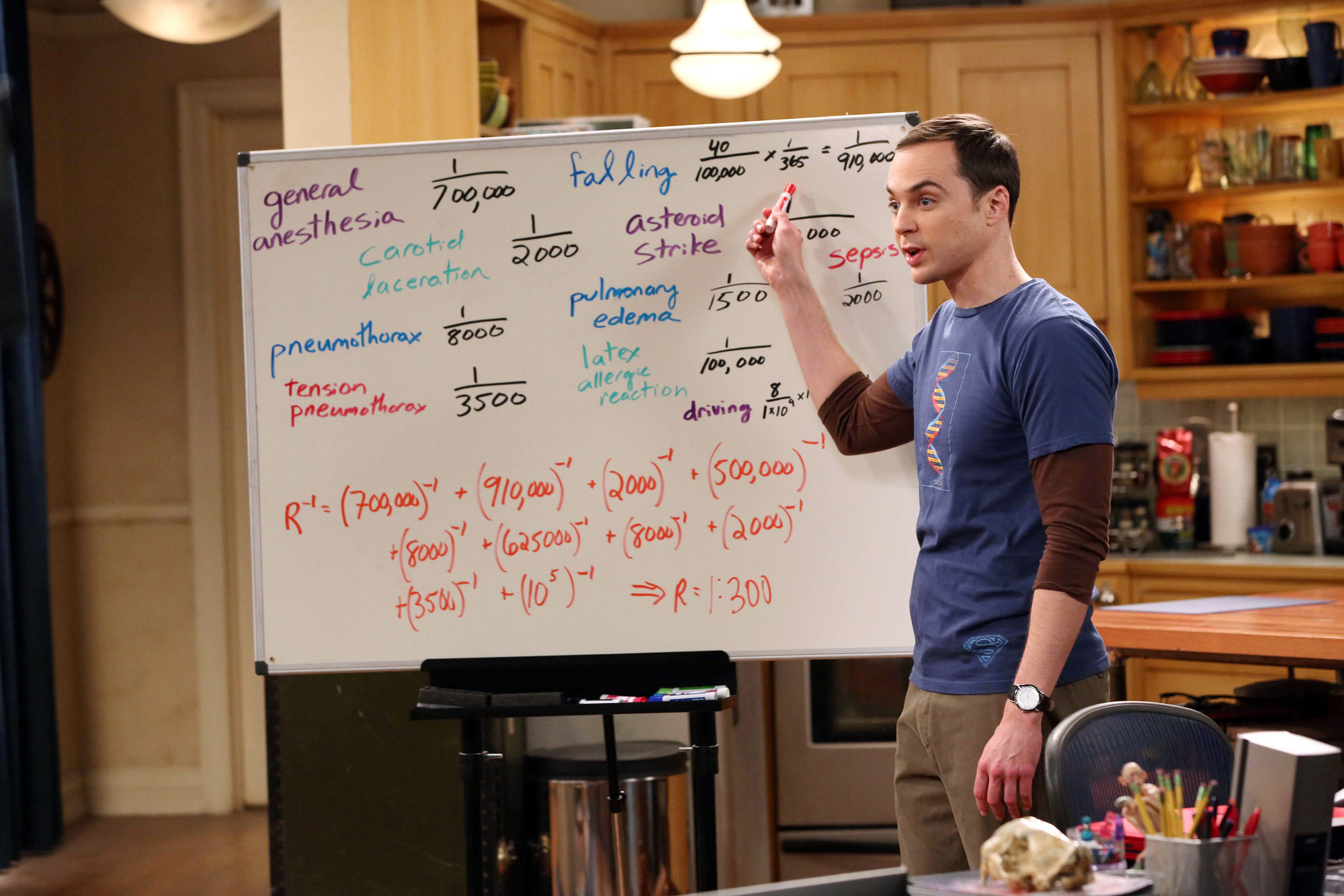 Sheldon tries to make a point