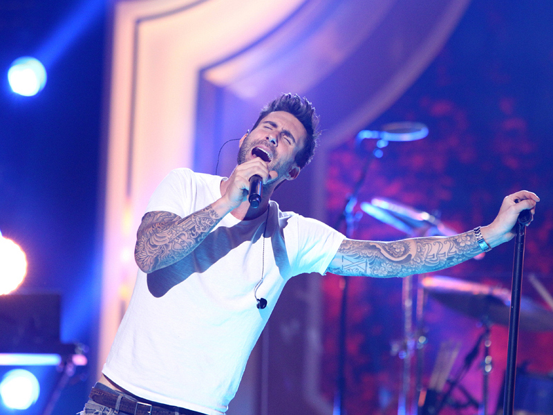 5. All we want for Christmas is Maroon 5.