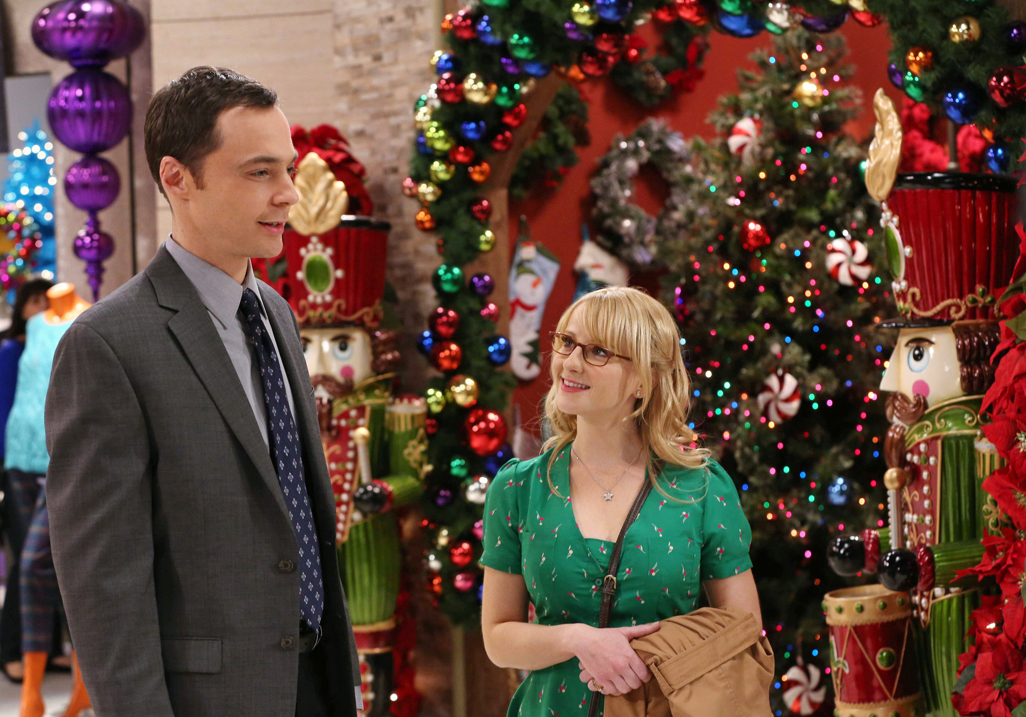 Sheldon and Bernadette