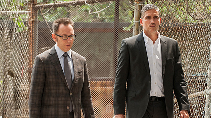 Harold Finch and John Reese - <em>Person Of Interest</em>