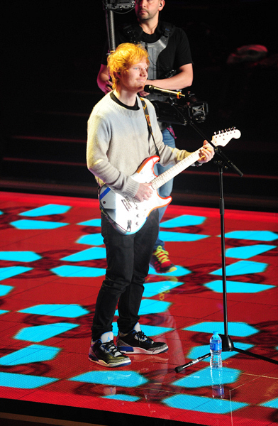 Who else can't wait for Ed Sheeran at the VS Fashion Show?!