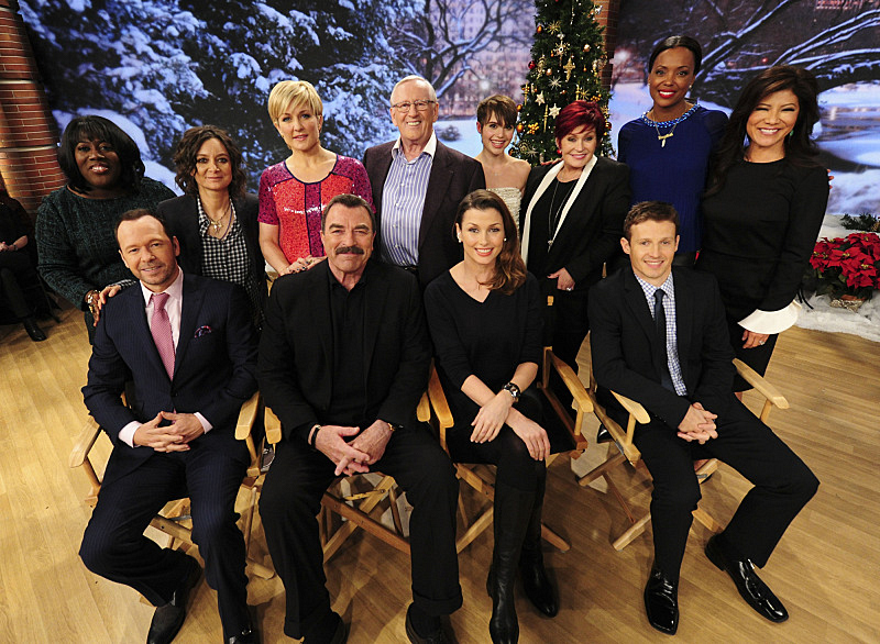 The Blue Bloods cast visits THE TALK