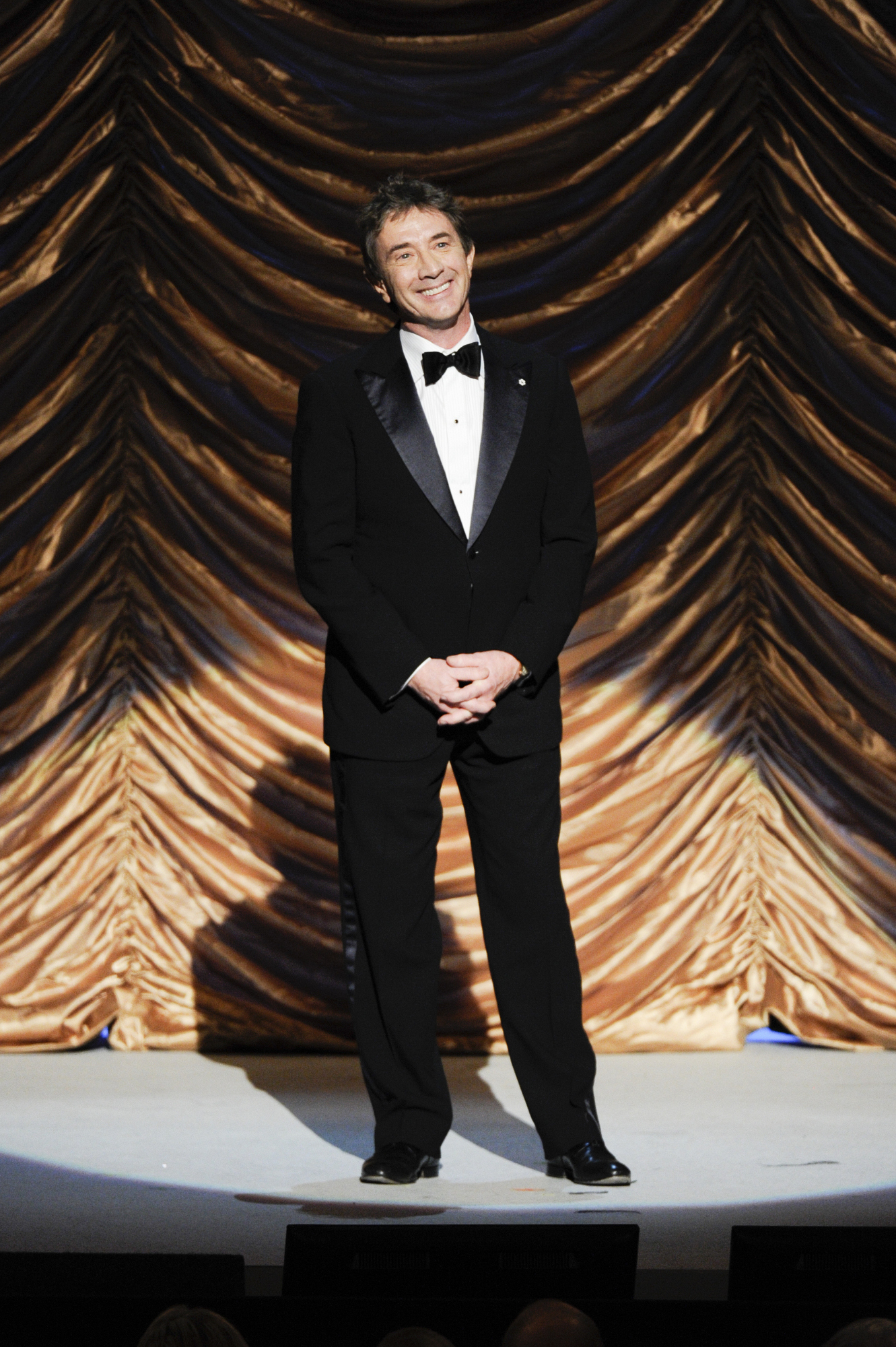 Martin Short Smiles at the Audience