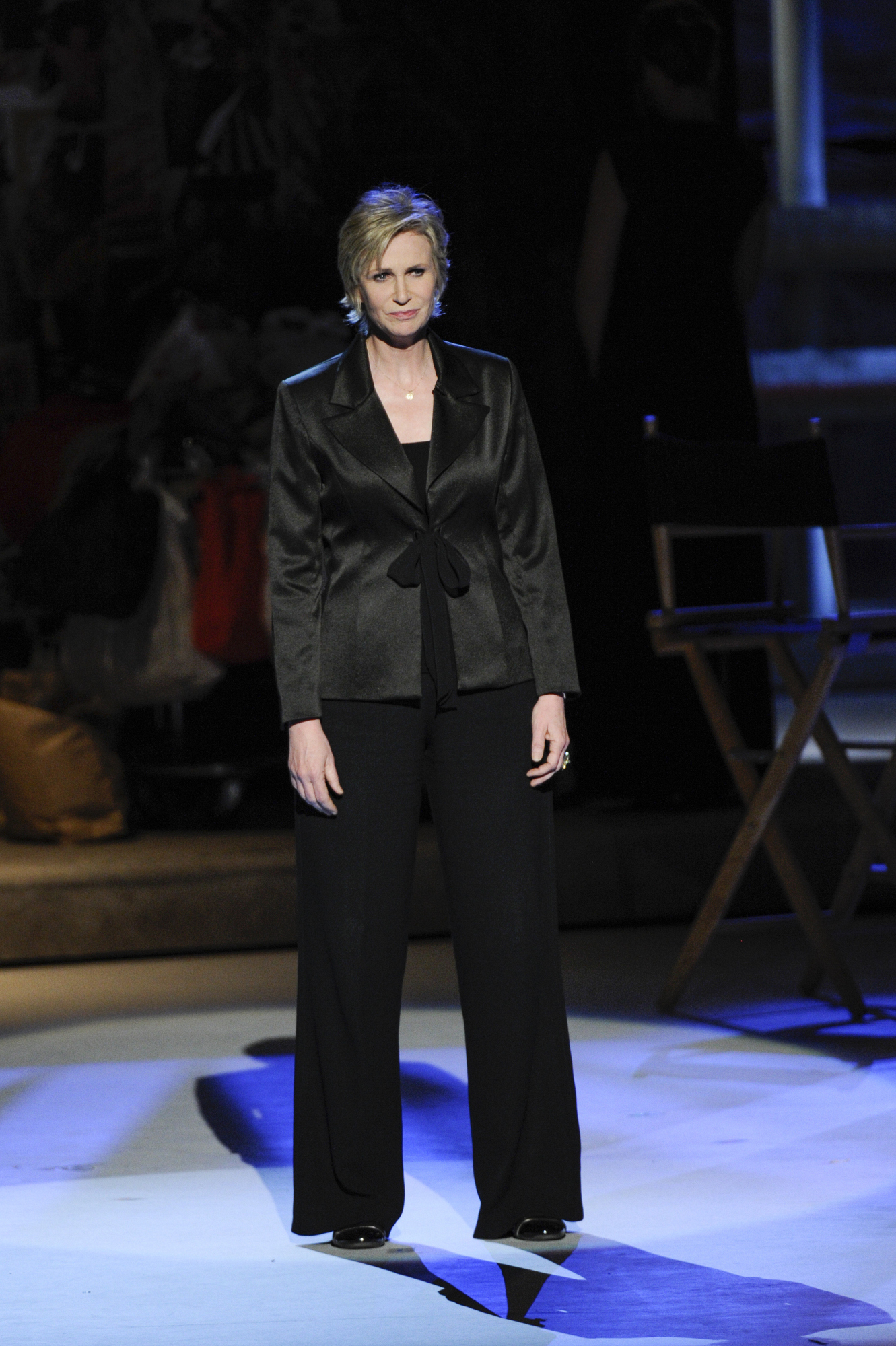 Jane Lynch Deadpans at the 2014 Kennedy Center Honors