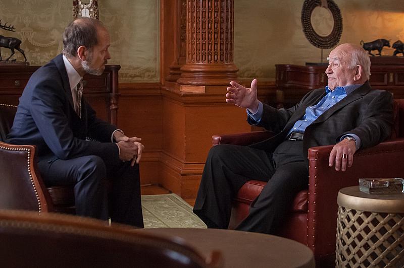 Frank Prady meets with Guy Redmayne.