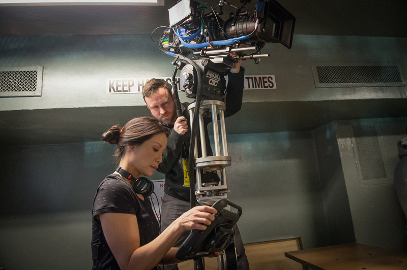 """Lucy Liu directs episode 315 """"The Female of the Species."""""""