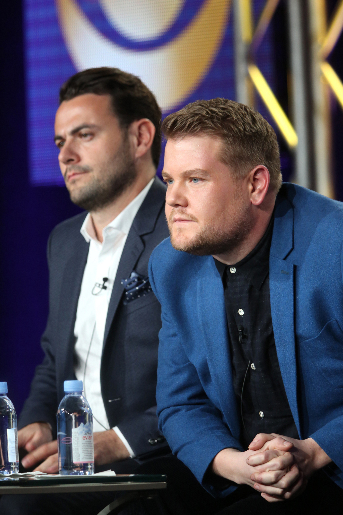 Executive Producer, Ben Winston and Host, James Corden