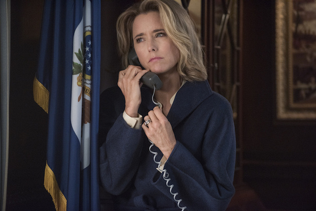 4. Téa Leoni has lived in Tokyo, Italy and St. Croix.