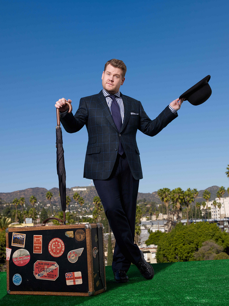 The Late Late Show with James Corden premieres March 23.