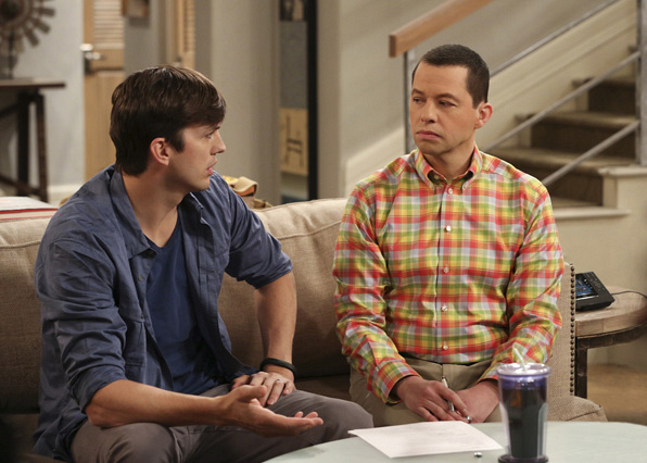 What unfolds on Two and a Half Men?