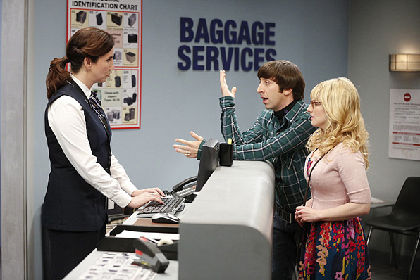 15. Howard and Bernadette can't when it comes to travel woes and, honestly, no sane person can.