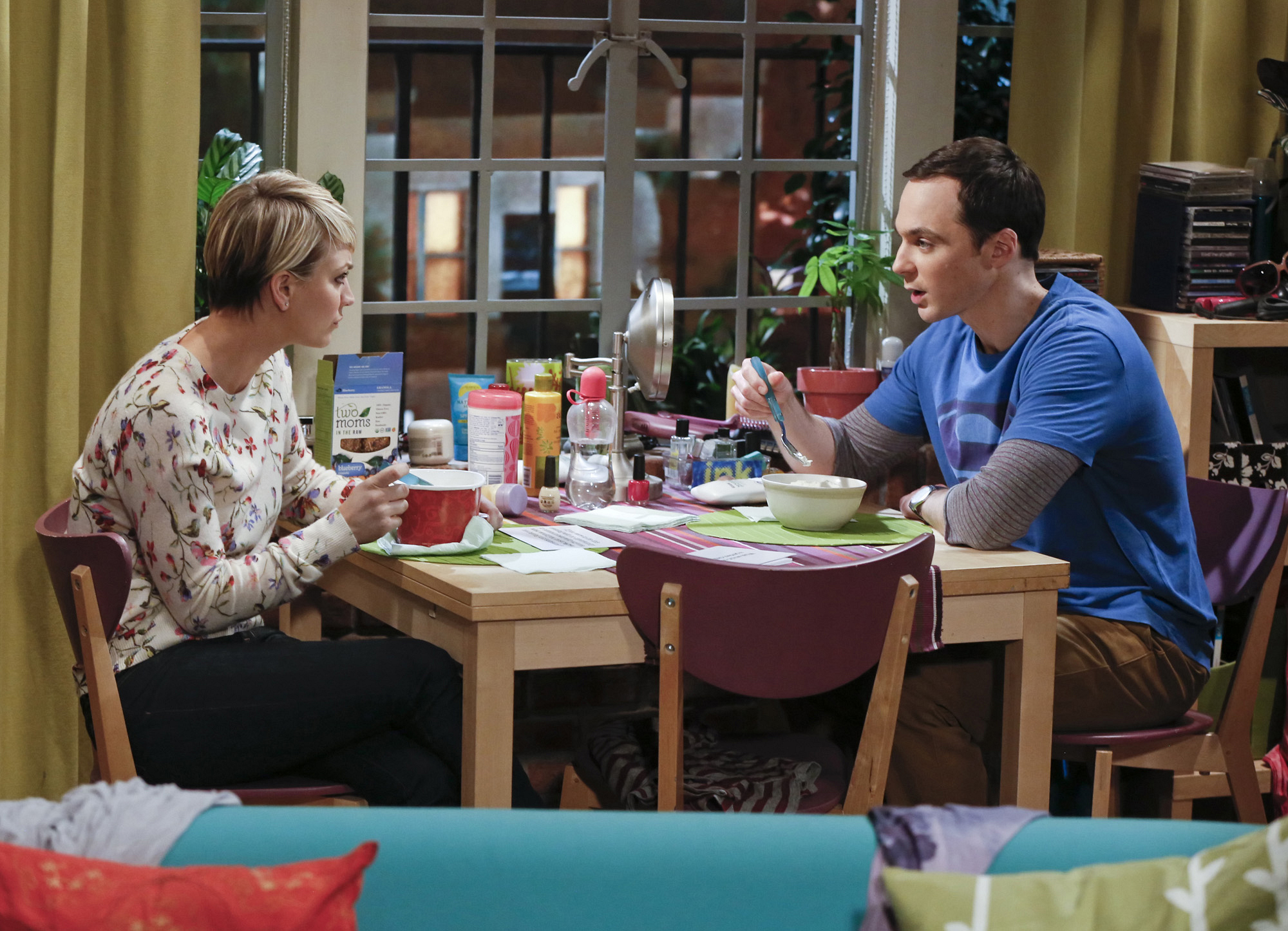 Sheldon and Penny get to know each other better
