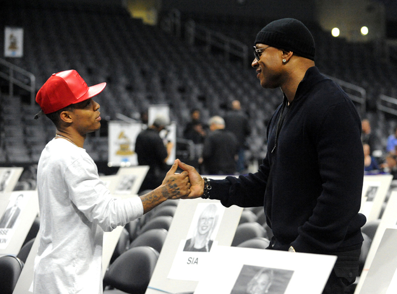 Shad Moss and LL COOL J