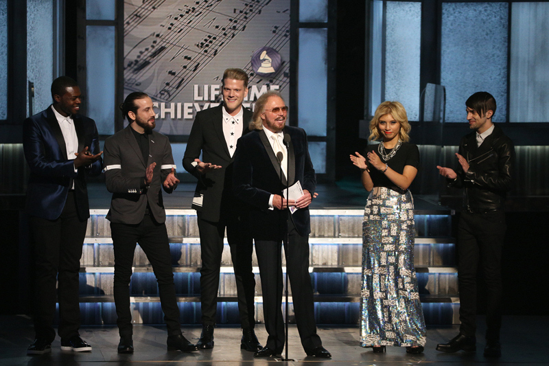 Pentatonix and Barry Gibb