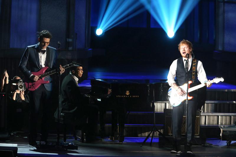 Ed Sheeran and John Mayer