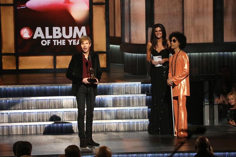 Beck, winner of Album of the Year