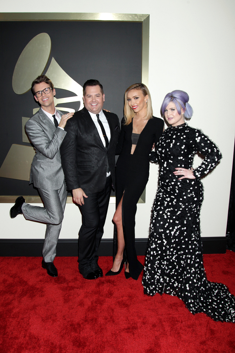 Brad Goreski, Ross Mathews, Giuliana Rancic, and Kelly Osbourne