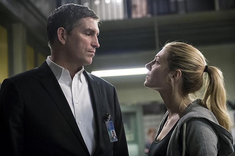 Katheryn Winnick gets in Reese's face.