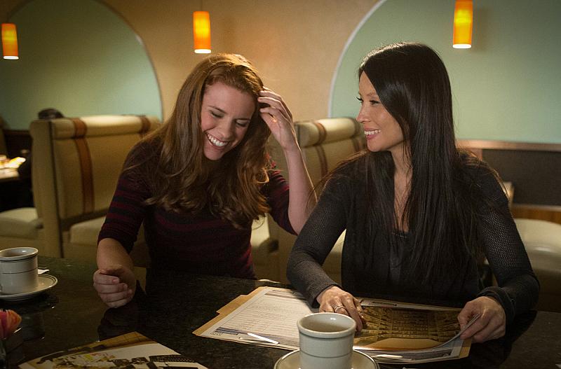 Liza J. Bennett guest stars at Gregson's daughter