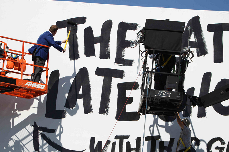 Corden takes over The Late Late Show on March 23.
